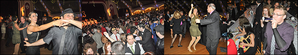 Grand New Year's Eve Celebration at St. Petersburg Coliseum, Tampa Bay Florida, All Ages Swing Dance with live music!